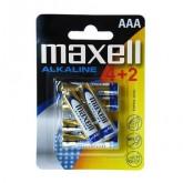 Blister de piles alcalines 4 piles + 2 gratuites AAA