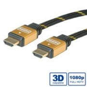 Câble HDMI High speed avec Ethernet 1.4a GOLD