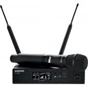 Ensemble microphone HF Numérique - QLXD24-KSM9- récepteur simple+ Emetteur Main KSM9