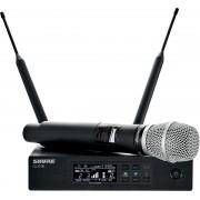 Ensemble microphone HF Numérique - QLXD24-86 Récepteur simple+ Emetteur Main SM86
