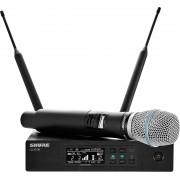 Ensemble microphone HF Numérique - QLXD24-B87A Récepteur simple - Emetteur main BETA87A