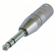 Adaptateur XLR 3 points mâle / jack mâle 6.35 stéréo Neutrik
